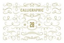 Calligraphic Design Elements V...