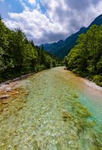 Soča Fluss Tal Slowenien Smar...