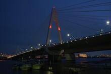 多摩川大師橋夜景
