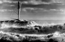 Vagues De Houle Australe Sur J...