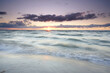 Wellen am Ostseestrand