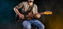 Jazz Guitar Player Performing ...
