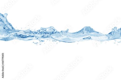 Fototapety, obrazy: water splash isolated on white background,water