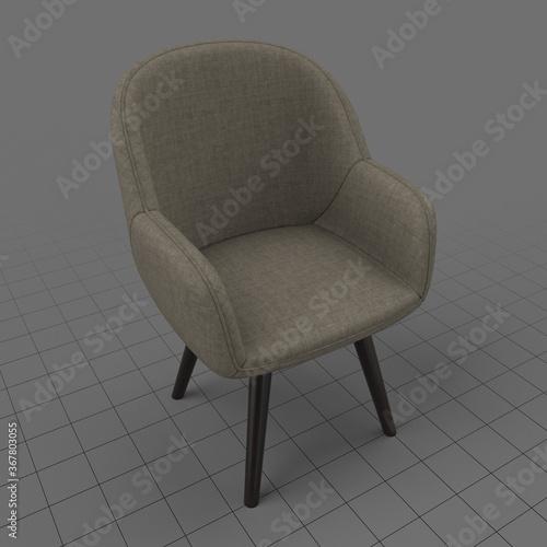 Obraz Modern armchair 2 - fototapety do salonu