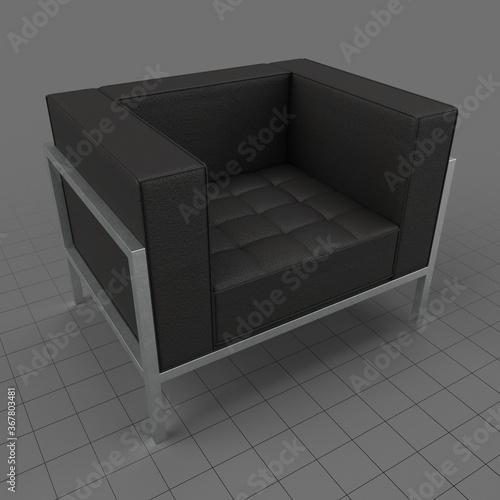 Obraz Modern armchair 1 - fototapety do salonu