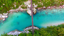 Aerial View Of The Turquoise B...