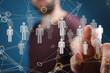 organization network team concept networking.