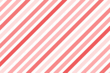 Vector Diagonal Stripes Pattern. Simple Christmas Background