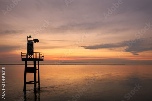 Fototapeta Garry Point Steveston Twilight