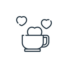 Coffee Time Icon Vector From F...