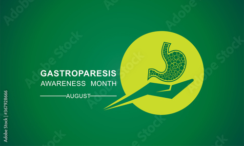 Gastroparesis Awareness Month observed in August Canvas Print