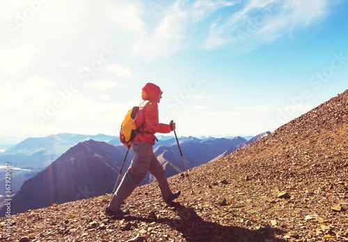 Obraz Hike in Canada - fototapety do salonu