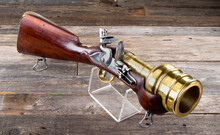Flintlock Hand Mortar.