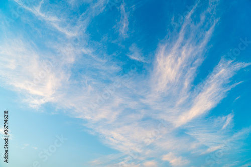 Fotografiet カーテンのような雲