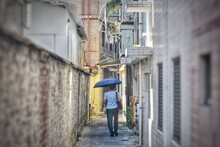 Alley On The Island Of Cheung ...