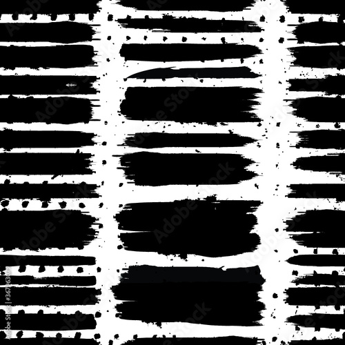Seamless pattern with speed lines, brush strokes , circles . minimalistic poster with striped Design elements .Repeating Vector stripes .Geometric shape. Dynamic geometrical Endless overlay texture. Wall mural