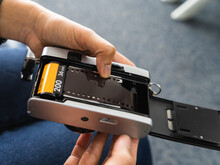 Loading 135mm Film To Compact ...