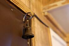 Door Bell On The Door In An Ol...