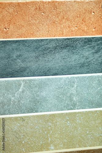 Obraz na plátně Various decorative tiles samples
