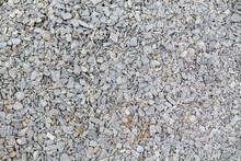 Crushed Stone Background, Gray...