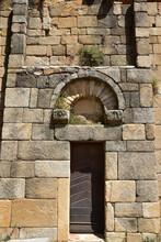 Portail De L'église San Pietro Et San Paolo De Lumio, Corse