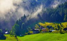 Austrian Alps Mountains. Alpin...