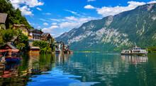 Hallstatt, Austria. Lakeside T...