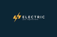 Electric Logo, Letter S From N...