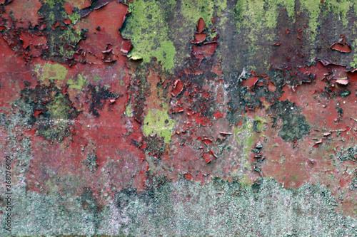 Fototapeta Stara Farba odpryskująca z Bramy