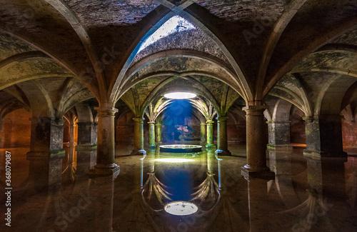 Portuguese Cistern in El Jadida, Morocco Canvas Print