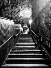 Old Salt Mine Stairs.