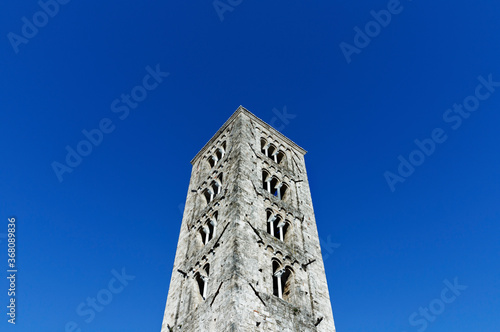 ANAGNI-ITALY-July 2020 -Cathedral bell tower Canvas-taulu