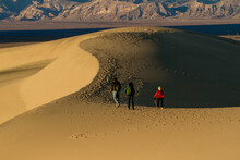 Stovepipe Wells, California;  ...
