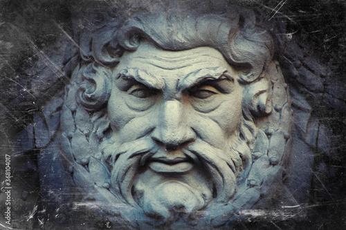 Canvastavla Zeus