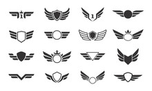 Wings Vector Collection. Winge...