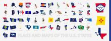 Flagged Maps Of U.S. States, A...