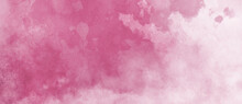 Watercolor Background In Pink ...
