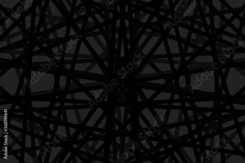 Photo Random chaotic lines abstract geometric pattern / texture