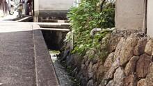 Drains In A Rural Japanese Town