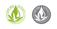 Aloe Vera Extract Icon - Leave...