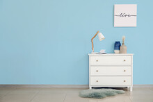 Modern Chest Of Drawers In Room