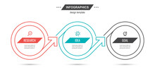 Vector Infographic Thin Line D...