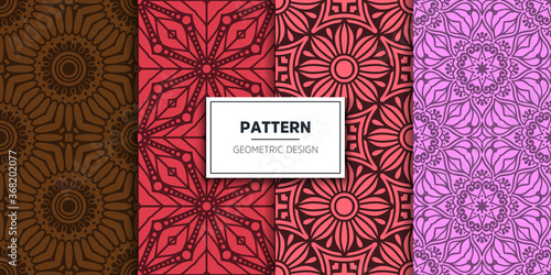 Fototapeta luxury ornamental mandala design background obraz