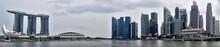 Panoramic View Of The Marina S...