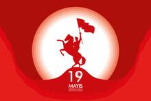 Zafer Bayrami Celebration Card...