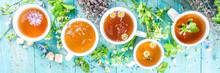 Different Herbal Tea Set. Vari...