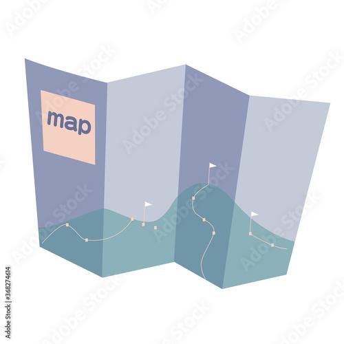 Photo 山の地図