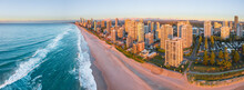 Aerial View Of The Beach And H...