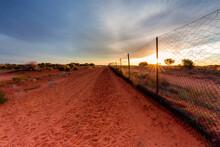 Dingo Fence At Cameron Corner