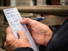 Stock Agent And His Notes For ...